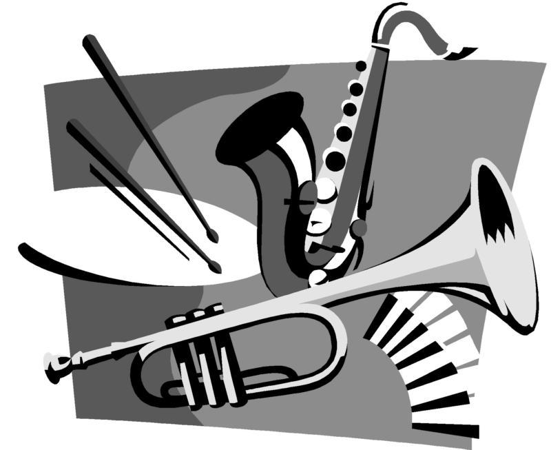 Vector and Clip Art Jazz Band 2820 Favorite ClipartFan.com.
