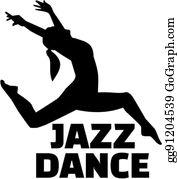 Jazz Dancer Clip Art.