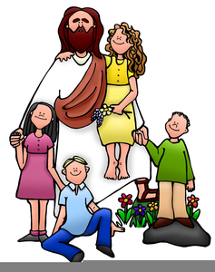 Free Jesus Clipart Children.