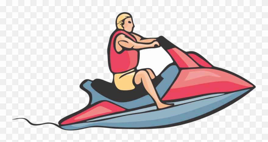 Nonsensical Jet Ski Clipart Personal Water Craft Sea.