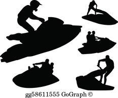 Jet Ski Clip Art.