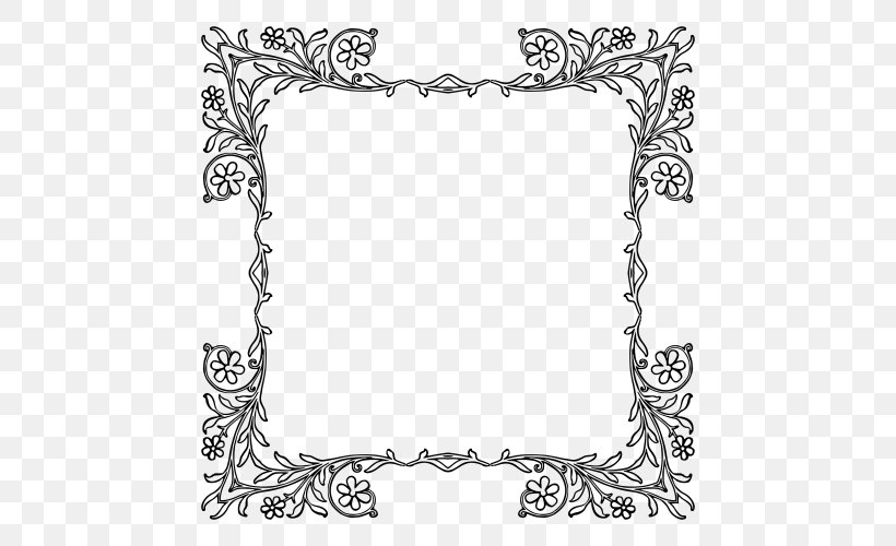 Borders And Frames Clip Art, PNG, 500x500px, Borders And.