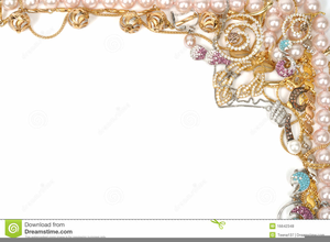 Jewelry Clipart Borders.