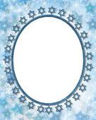 Drawings of Jewish star photo frame border k3211924.