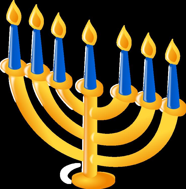 Menorah,Hanukkah,Candle Holder Vector Clipart.