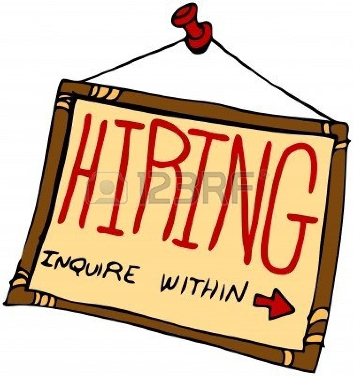 Job Hunting Clipart.