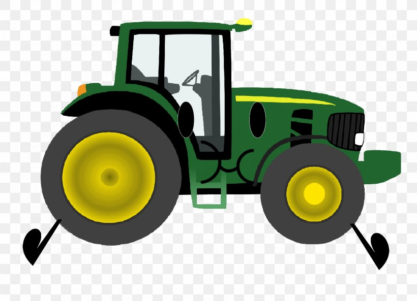John Deere Clip Art Christmas Tractor Agriculture, PNG.