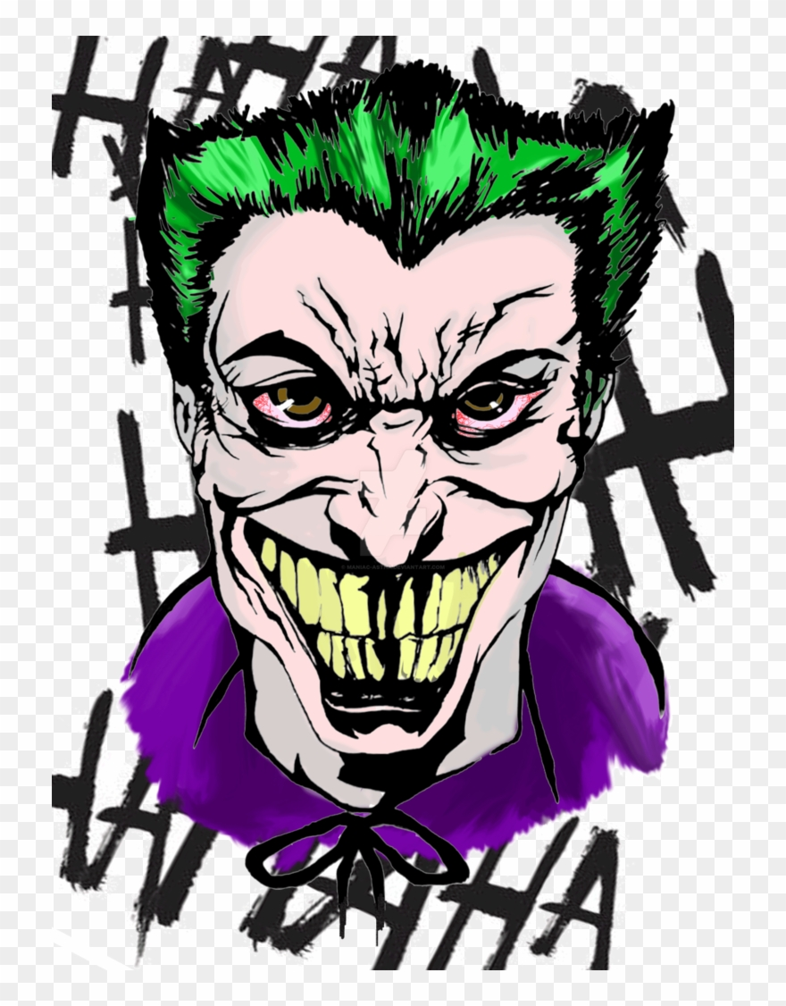 Cubism Drawing Joker Banner Royalty Free Library.