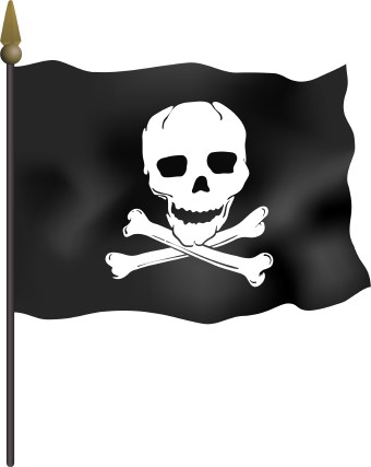 Jolly roger clipart 5 » Clipart Station.