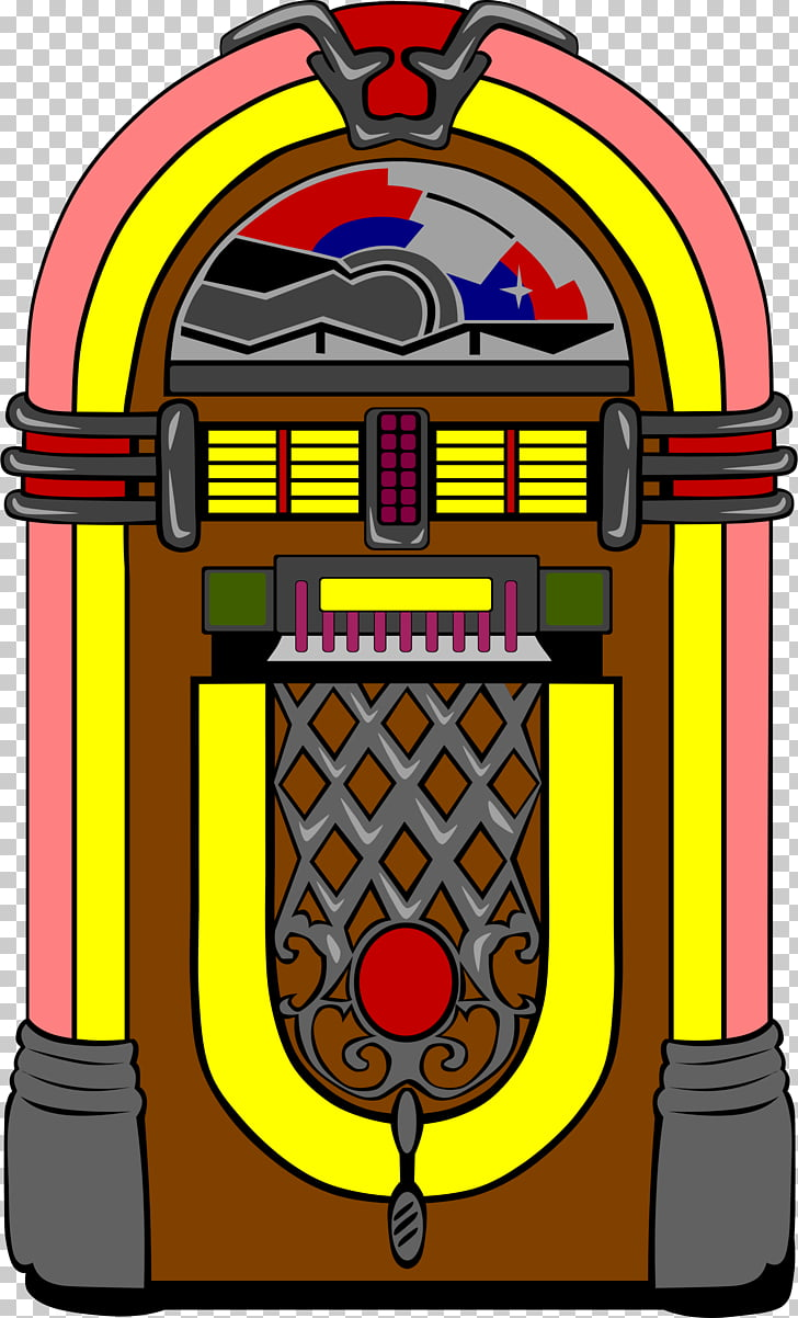 Jukebox , Retro Time PNG clipart.