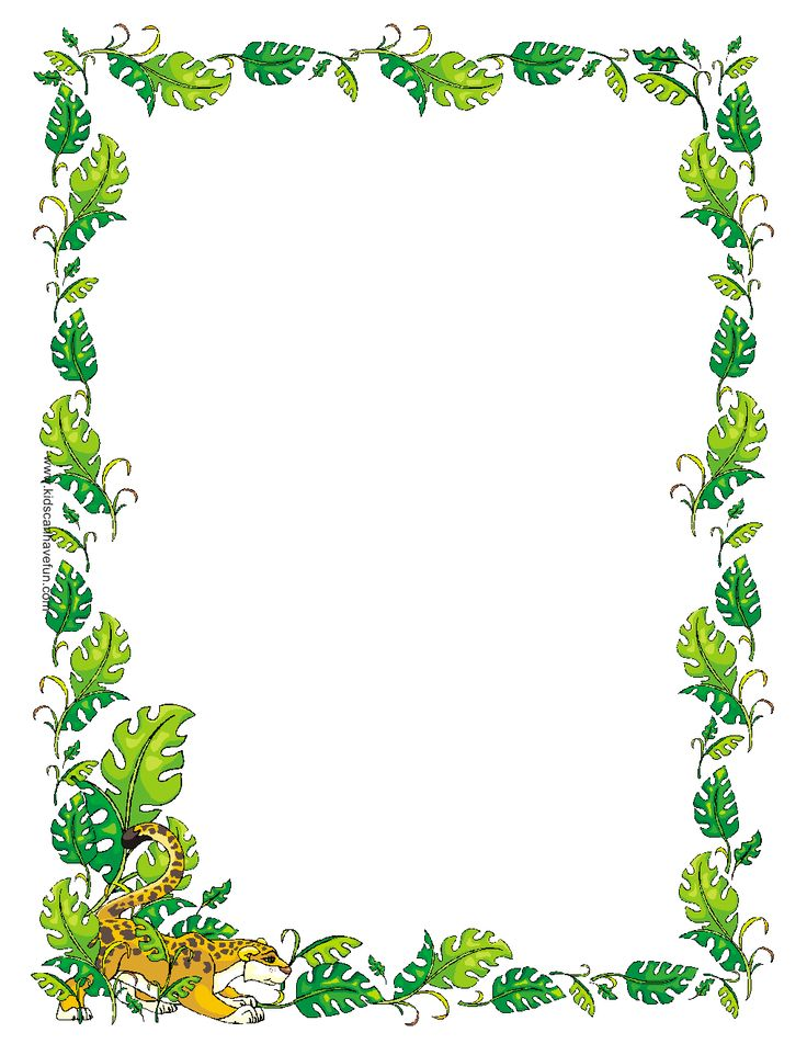 Free Jungle Cliparts Frames, Download Free Clip Art, Free Clip Art.