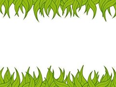 Free jungle border clipart.