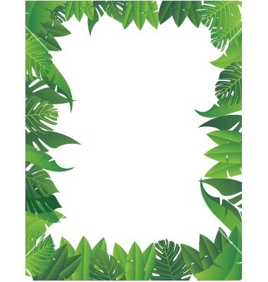 Free Jungle Border Png, Download Free Clip Art, Free Clip.
