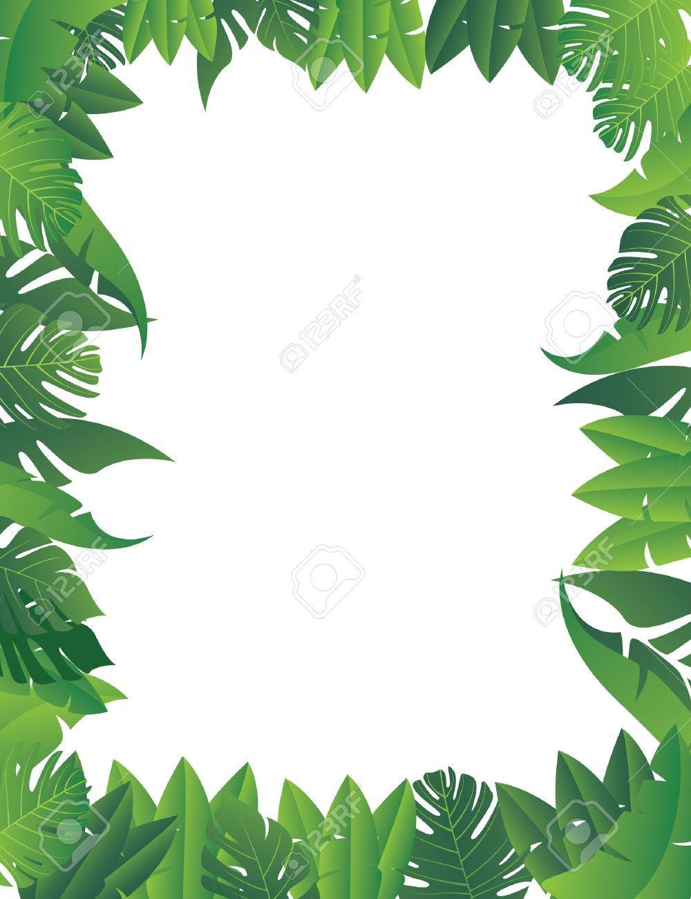 Free jungle border clipart 7 » Clipart Portal.