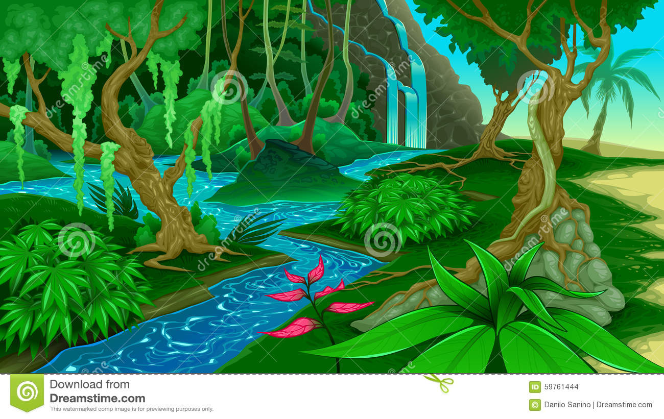 Clipart Images Of Jungle.