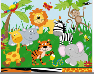 Jungle Free Clipart.