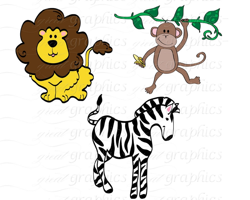 Free Free Jungle Animal Clipart, Download Free Clip Art.
