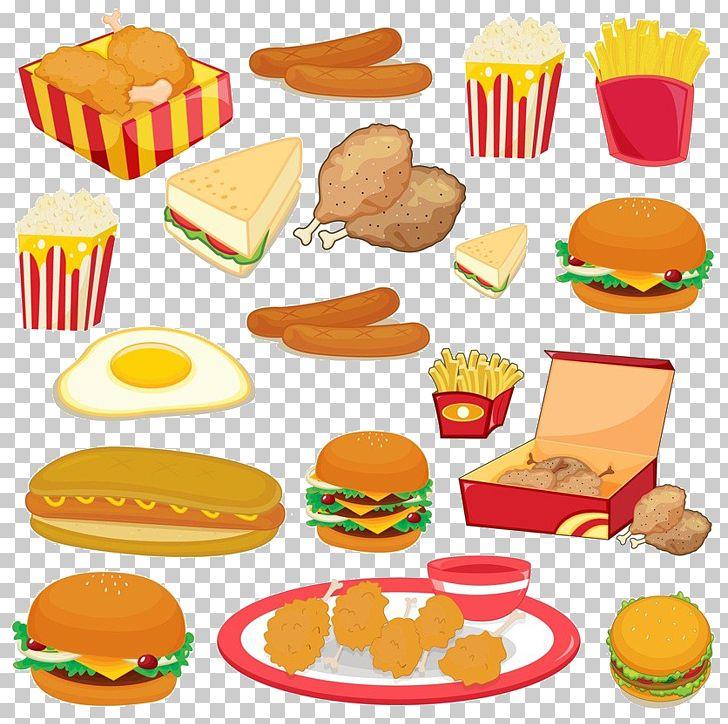 Junk Food Fast Food PNG, Clipart, American Food, Boy Cartoon, Bread.