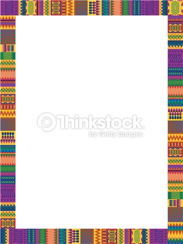 Free Kente Cloth Clipart Borders Clipground