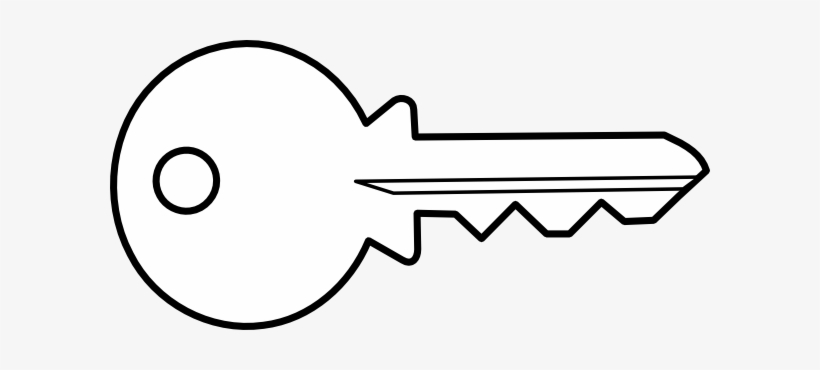 Key Clipart Outline Png.