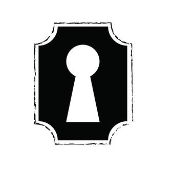 Free keyhole clipart 2 » Clipart Station.