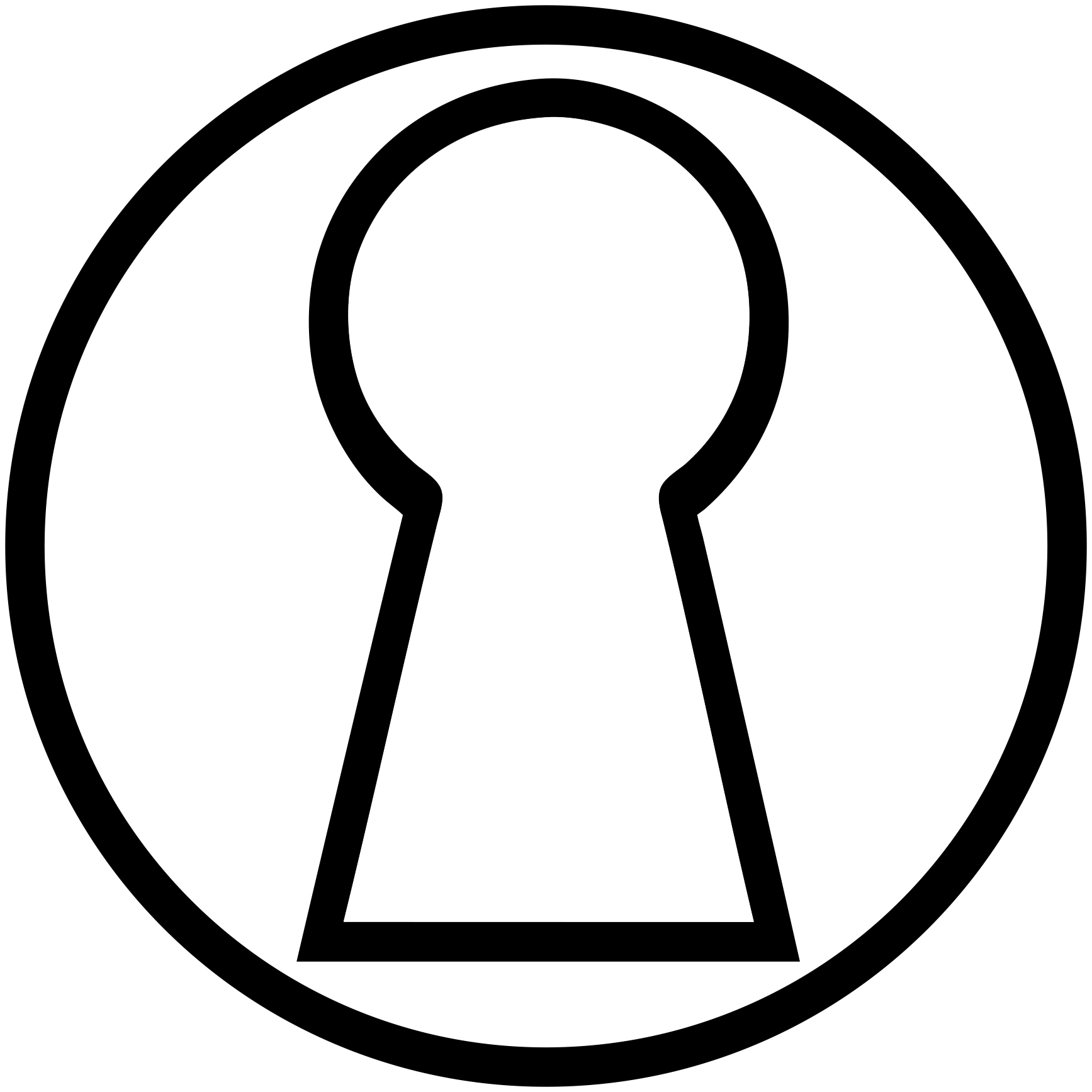 Key clipart keyhole, Key keyhole Transparent FREE for.