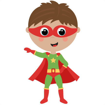 Boy Superhero cute cut files SVG cutting files for scrapbooking.