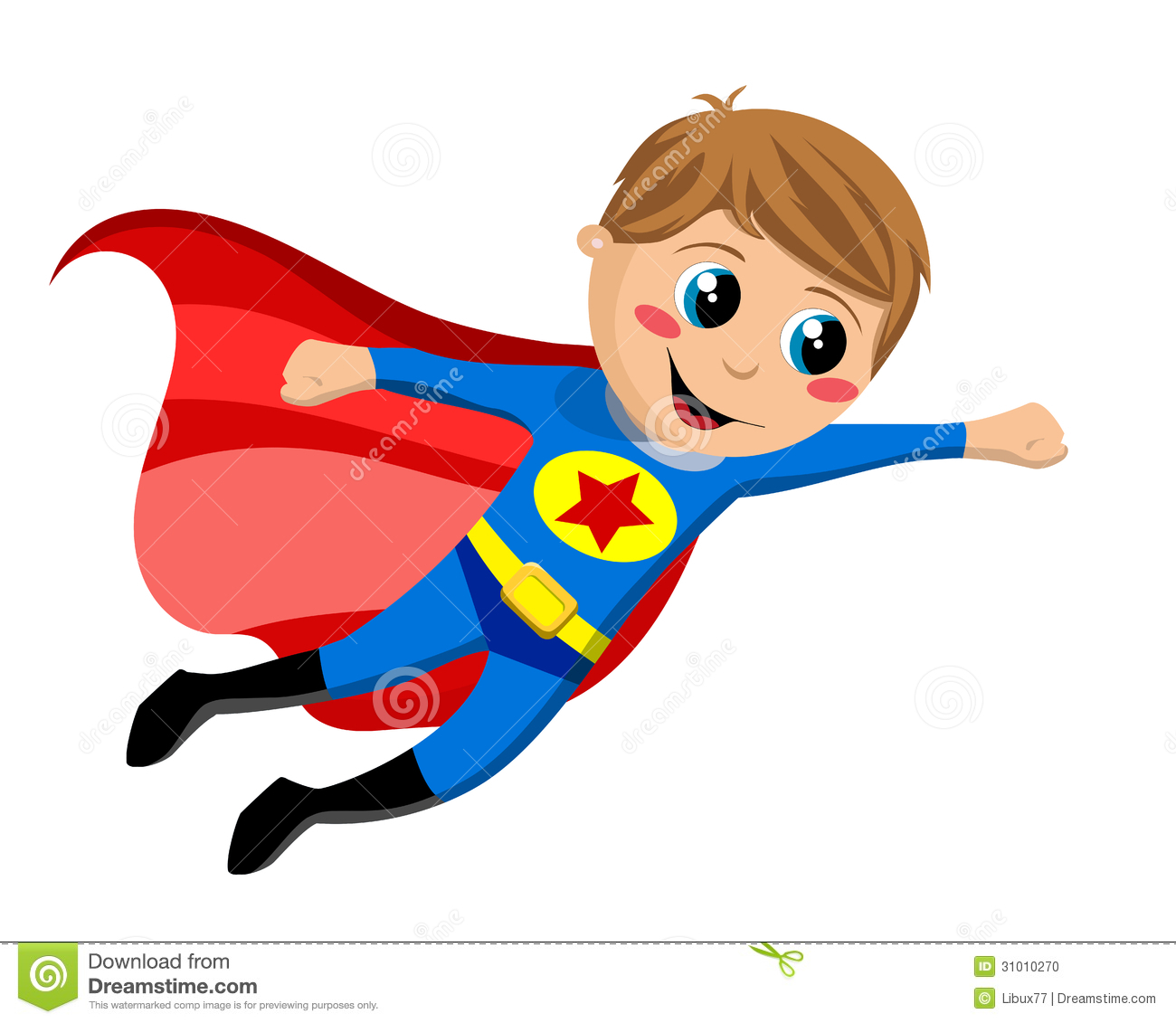 72+ Kid Superhero Clipart.