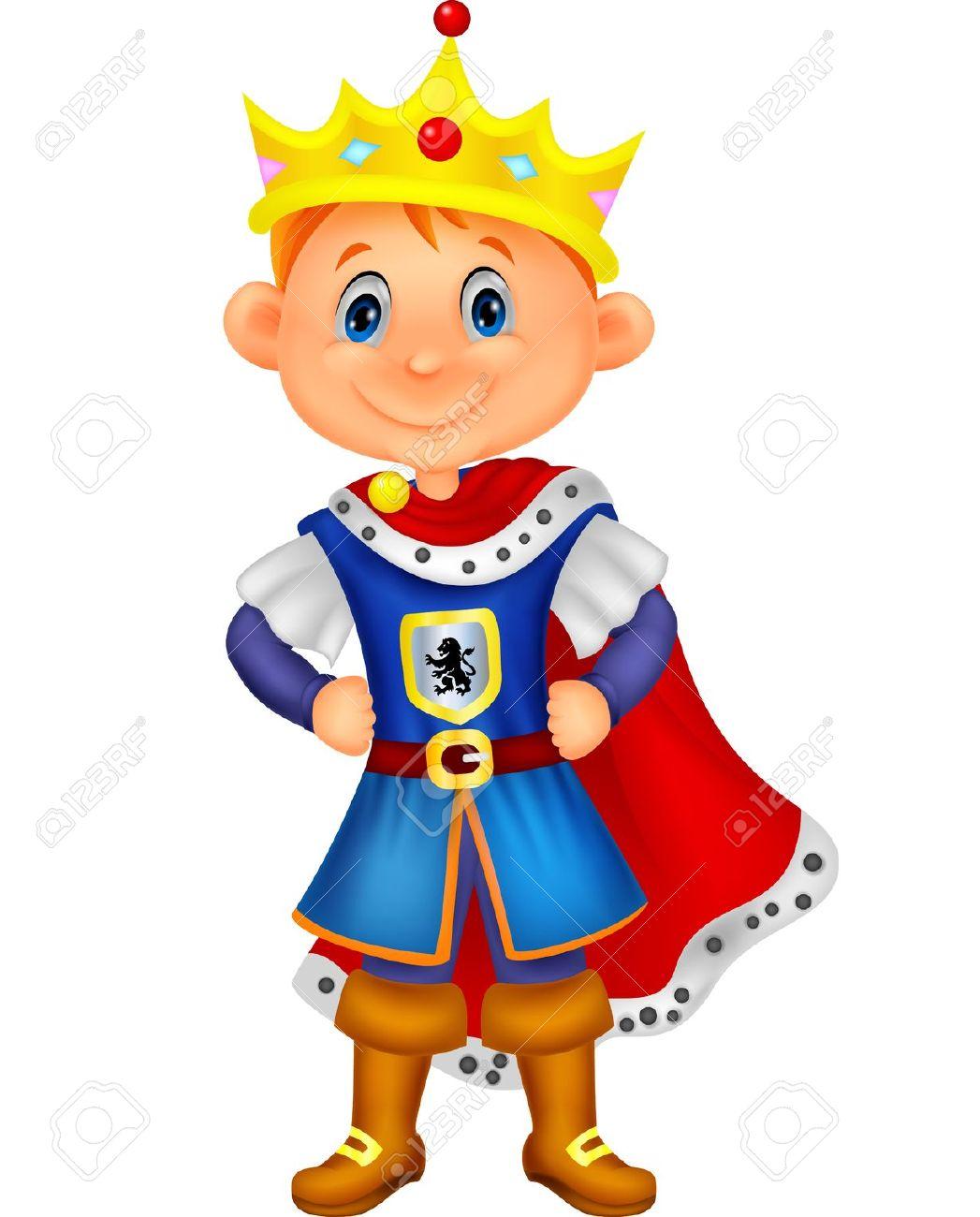 Boy King Clipart.
