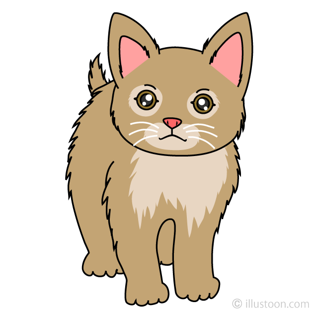 Free Kitten Clipart Image|Illustoon.