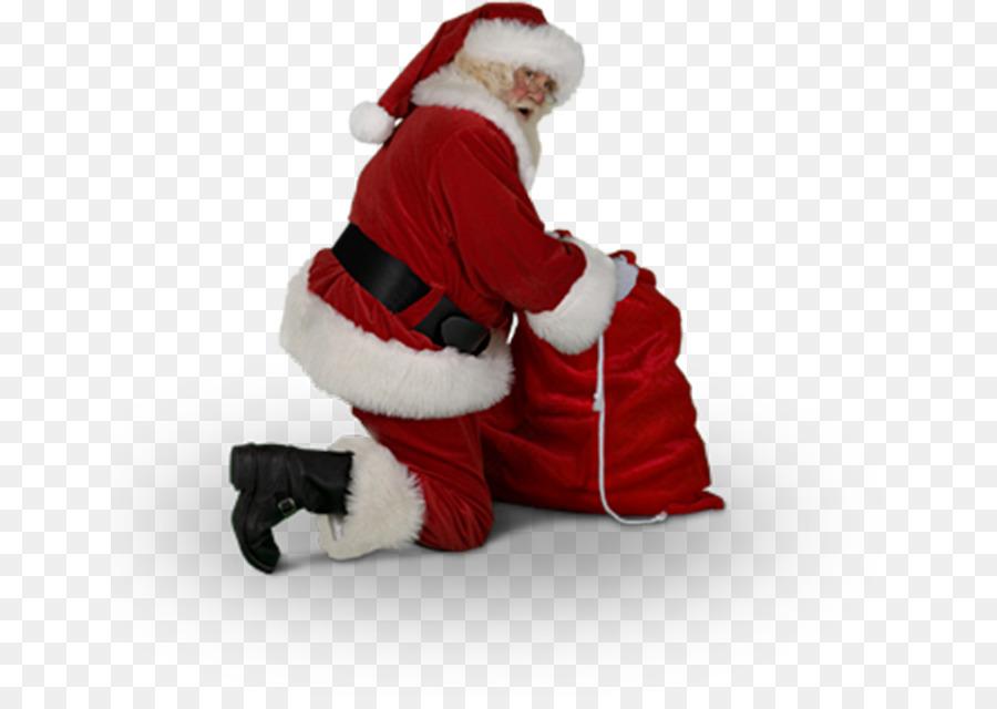 Kneeling Santa Png & Free Kneeling Santa.png Transparent.