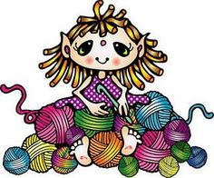 Knitting Clipart Free.