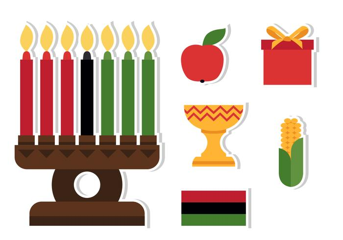 Kwanzaa Celebration Icon.