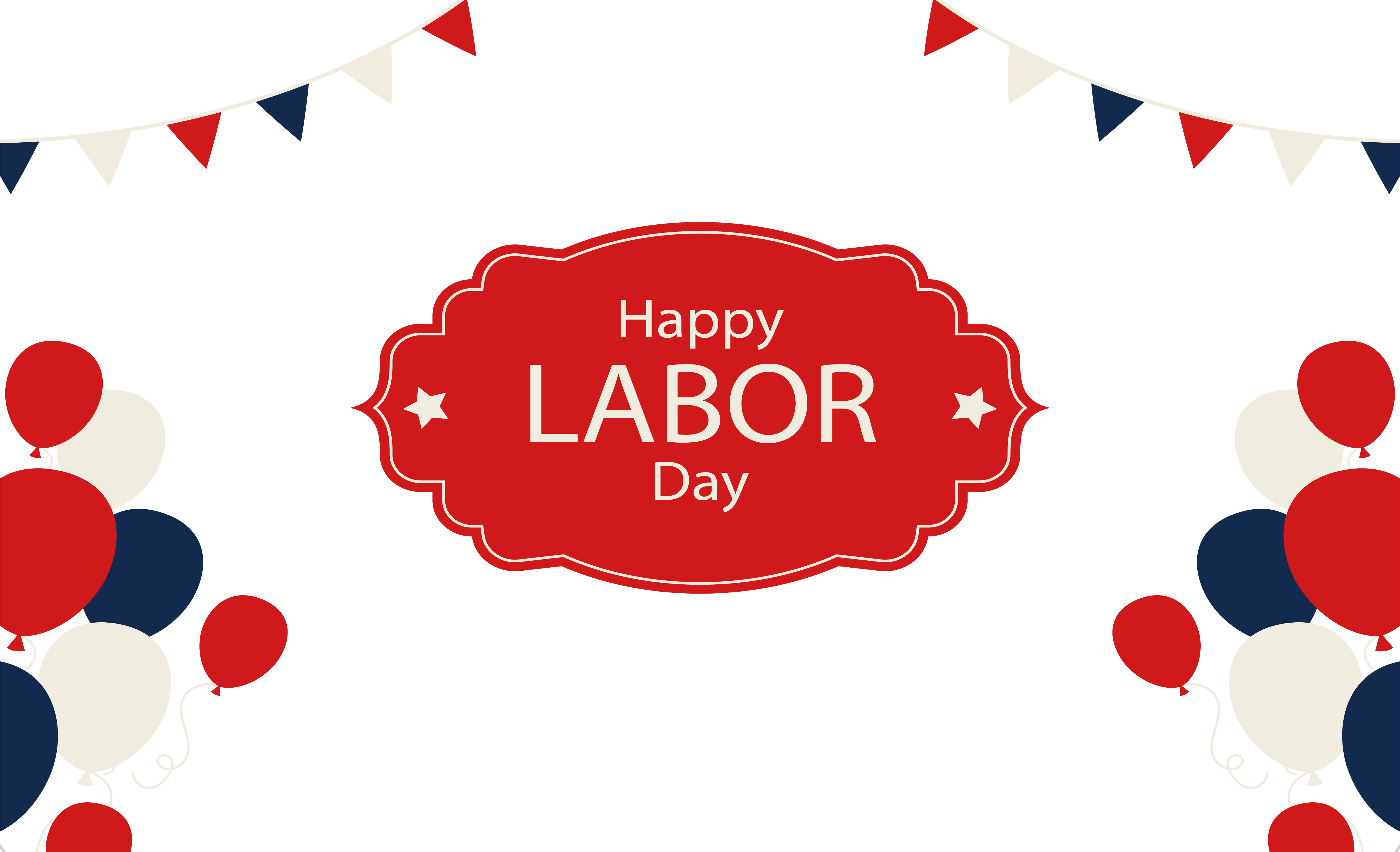 Poster Labor Day International Workers Day.