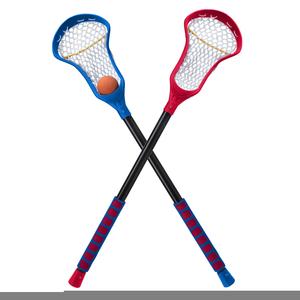 Lacrosse Sticks Clipart.