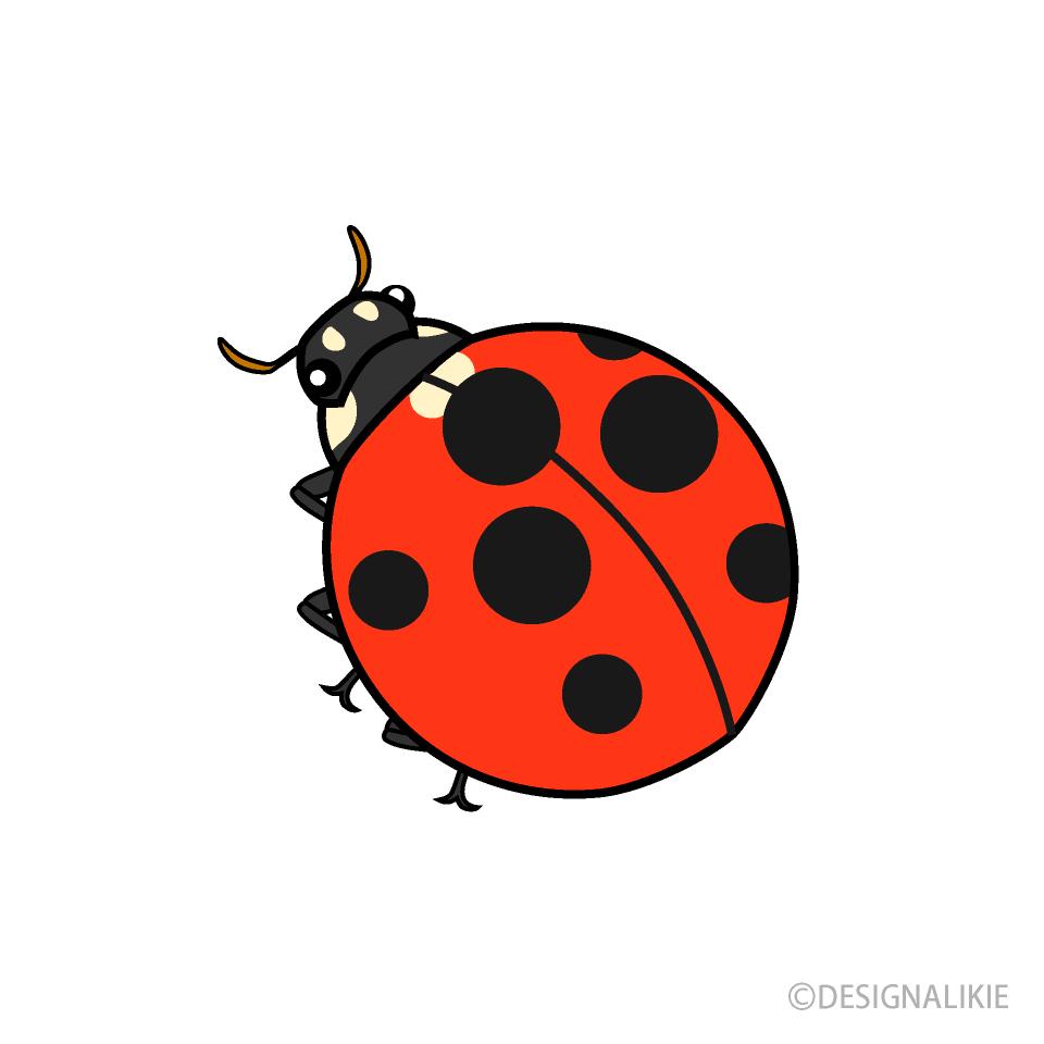 Free Ladybug Clipart Image|Illustoon.