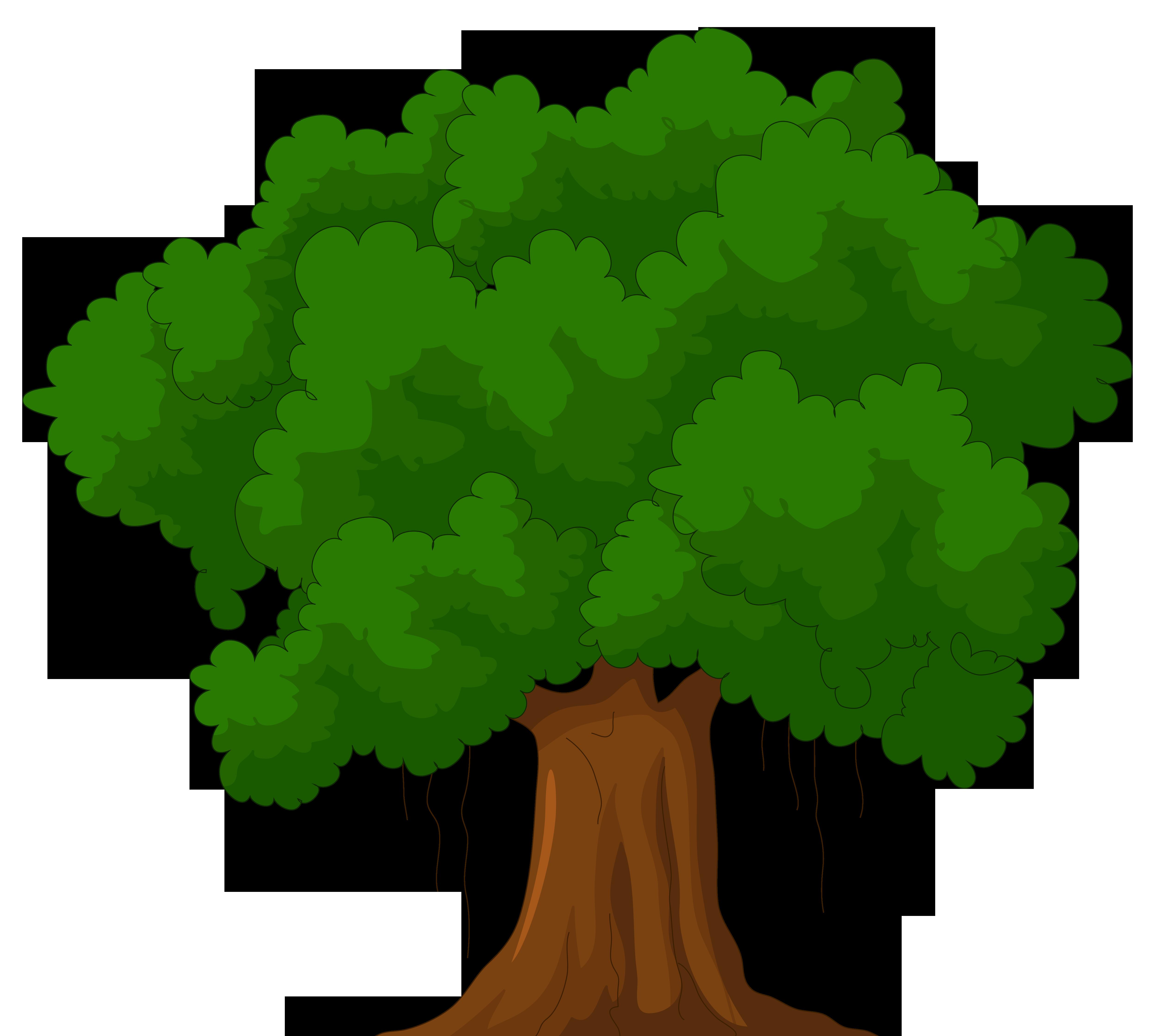 Landscape clipart green tree, Landscape green tree.