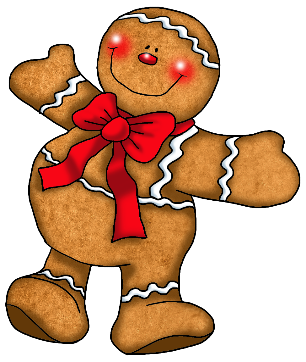 Gingerbread man gingerbread clip art clipart pictures clipartix 2.