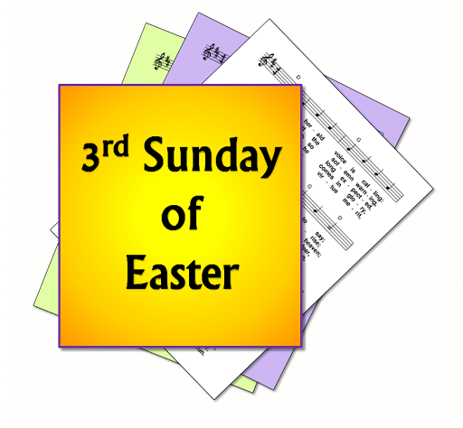 LiturgyTools.net: Hymn suggestions, 3rd Sunday of Easter, Year C.