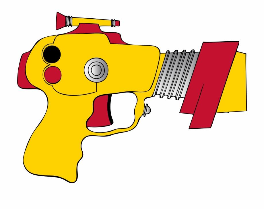 Laser Gun Weapon.