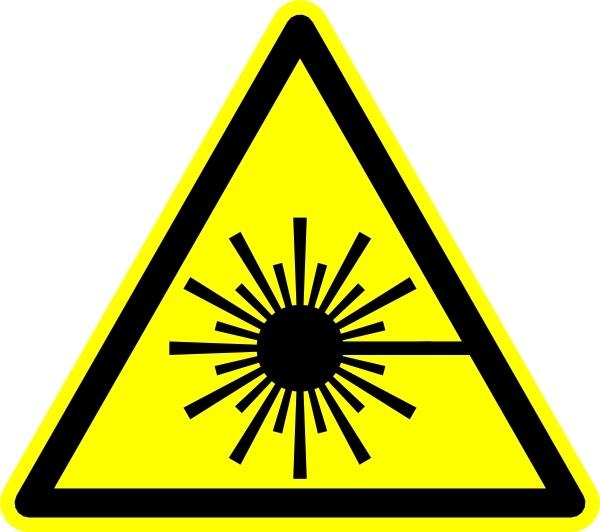 Laser Symbol clip art Free vector in Open office drawing svg ( .svg.
