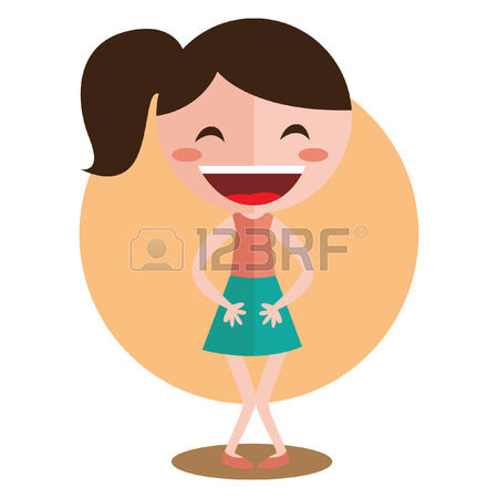 8,283 Woman Laughing Stock Vector Illustration And Royalty Free.