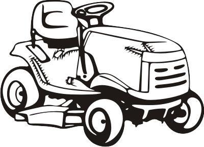 Lawn Mower Clip Art Free.