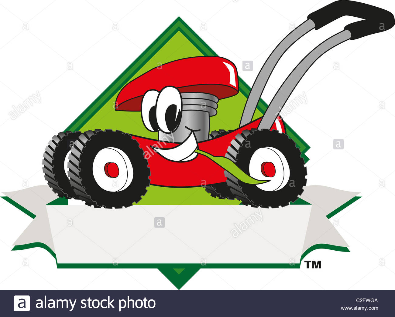 Free Lawn Mowing Clipart.