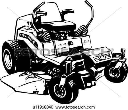 Lawn mower Clip Art EPS Images. 723 lawn mower clipart vector.