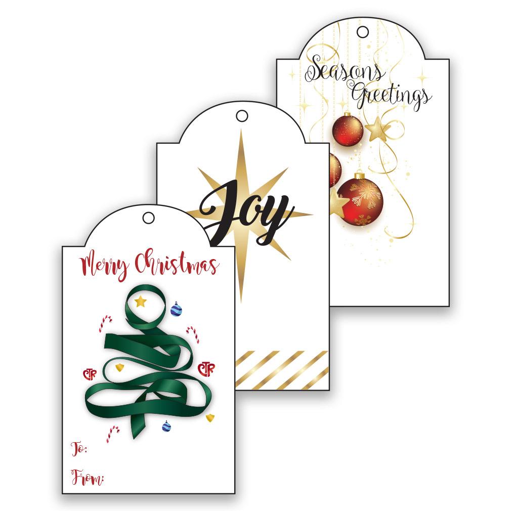 Printable LDS Christmas Gift Tags.