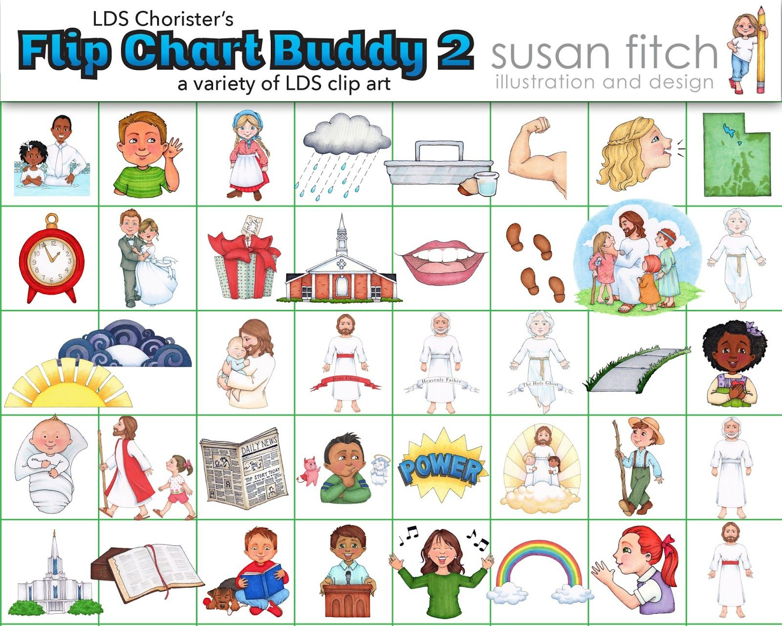 free LDS clip art and illustrations.