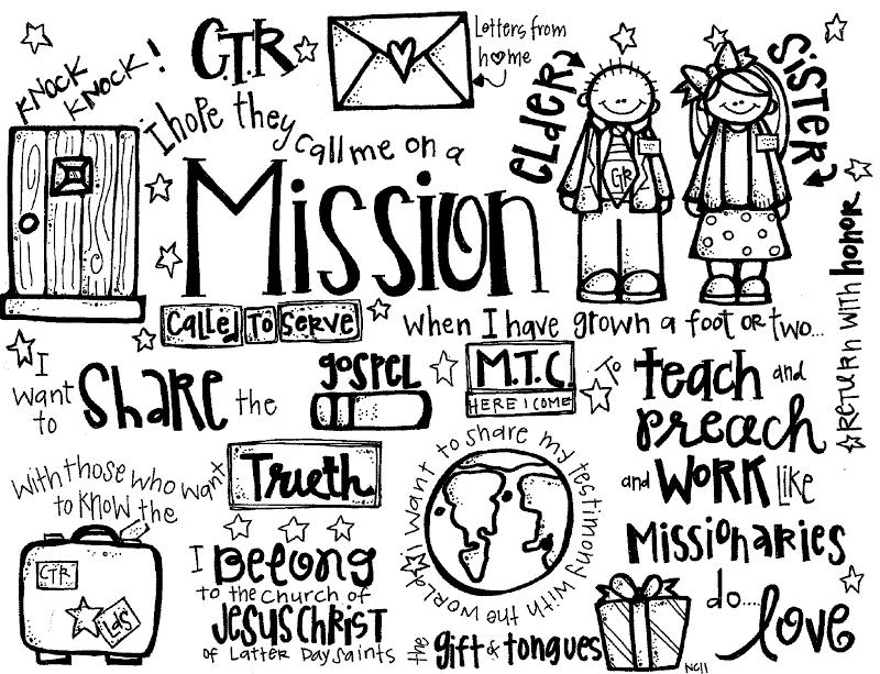 Mormon LDS Missionary Clip Art.