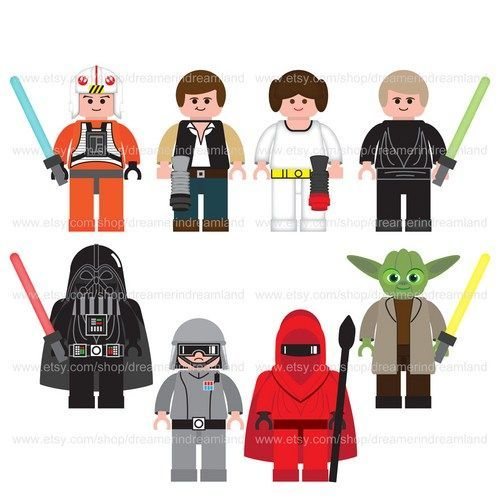 Free Lego Star Wars Art Prints to download and print as.