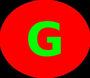 Letter G Image.